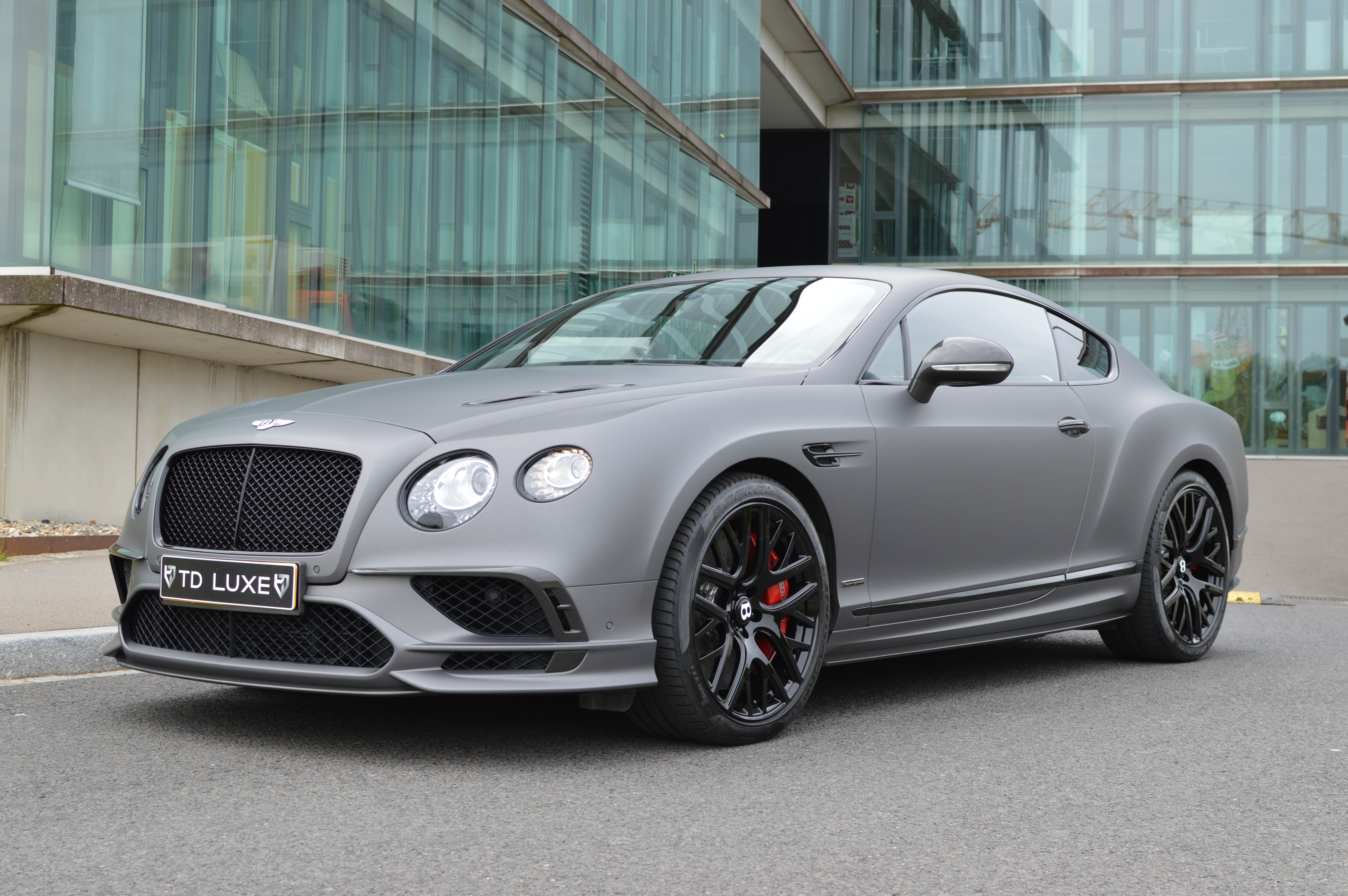 Bentley Continental Gt Supersports Td Luxe